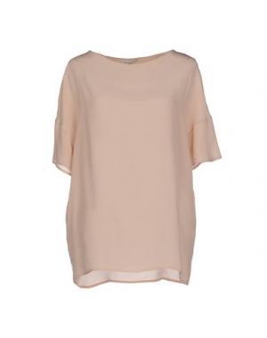Блузка BRUNO MANETTI. Цвет: бежевый