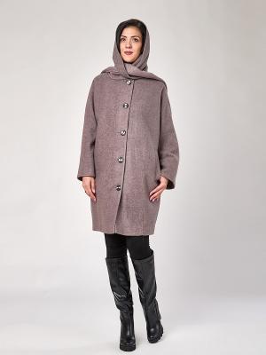 Пальто Best&Best. Цвет: лиловый