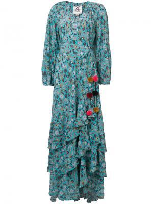 Платье Frederica Figue. Цвет: синий