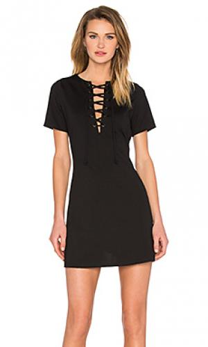Мини платье Lucca Couture. Цвет: черный