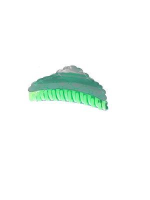 Заколка-краб Migura. Цвет: зеленый