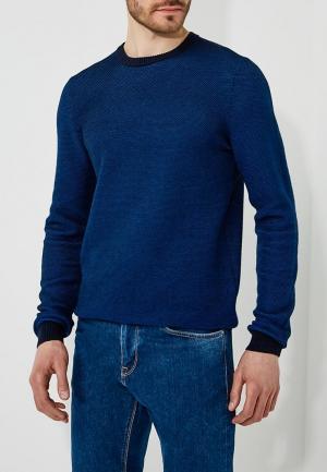 Джемпер Hugo Boss. Цвет: синий