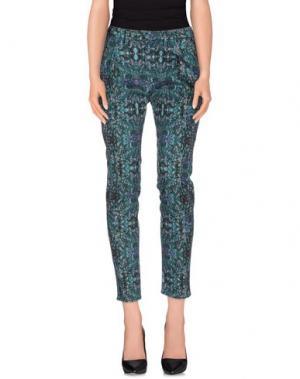 Повседневные брюки HAIKURE. Цвет: цвет морской волны