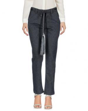 Повседневные брюки SOHO DE LUXE. Цвет: свинцово-серый