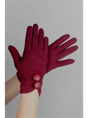 Перчатки Sophie Ramage. Цвет: красный
