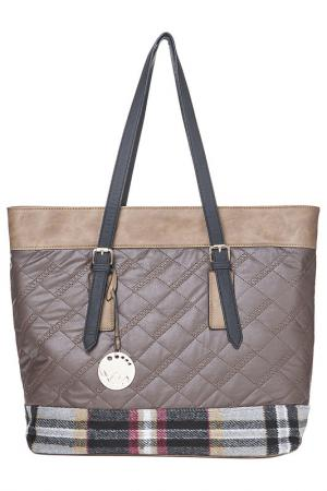 BAG Acqua di Perla. Цвет: dark brown, taupe