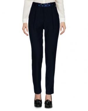 Повседневные брюки MASSIMO REBECCHI. Цвет: темно-синий
