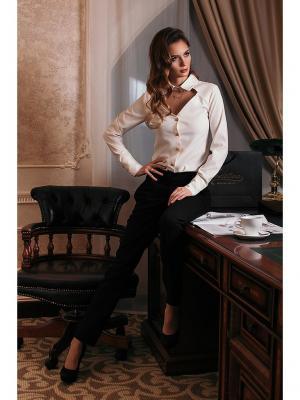 Блузка Miranda Priestly Вестетика. Цвет: белый, молочный, кремовый