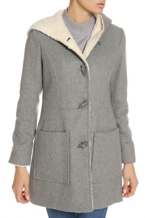Пальто Jessica Simpson. Цвет: heather grey
