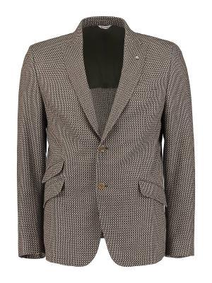 Пиджак Manuel Ritz. Цвет: коричневый