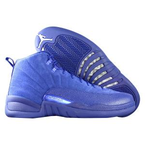 Кроссовки Jordan. Цвет: синий