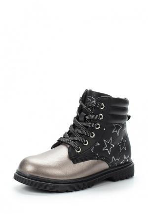 Ботинки Chicco. Цвет: серый