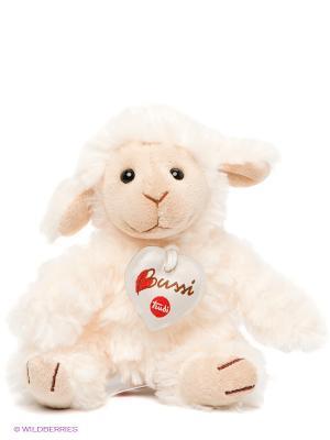 Мягкая игрушка Овечка TRUDI. Цвет: молочный