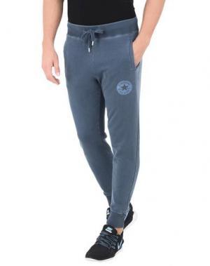 Повседневные брюки CONVERSE ALL STAR. Цвет: грифельно-синий