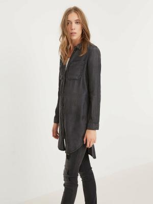 Рубашка Vero moda. Цвет: черный