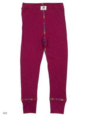 Кальсоны с радужными швами (термобельё) Janus. Цвет: бордовый