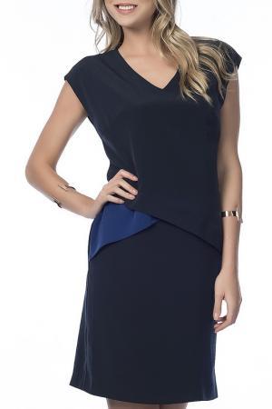Платье NARAMAXX. Цвет: синий