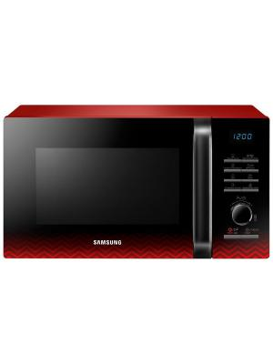 Микроволновая Печь MG23H3115PR 23л. 800Вт черный/красный Samsung. Цвет: красный, черный