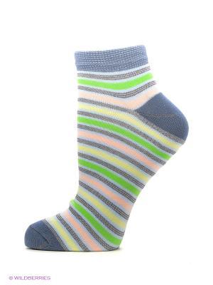 Носки, 3 пары Dairos. Цвет: серый, зеленый, индиго