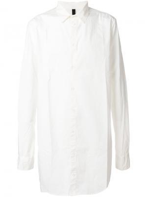 Длинная футболка Poème Bohémien. Цвет: белый