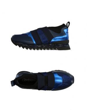 Низкие кеды и кроссовки APEPAZZA. Цвет: синий