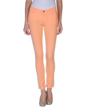 Повседневные брюки GOLD CASE. Цвет: абрикосовый
