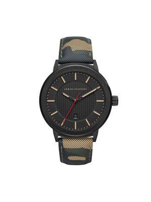 Часы Armani Exchange. Цвет: черный, хаки