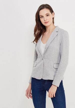 Пиджак Vero Moda. Цвет: серый