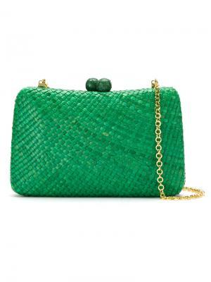 Clutch bag Serpui. Цвет: зелёный