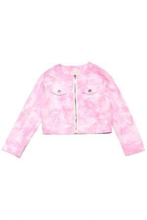 Пиджак Silvian Heach. Цвет: розовый