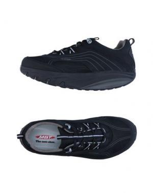 Низкие кеды и кроссовки MBT. Цвет: черный