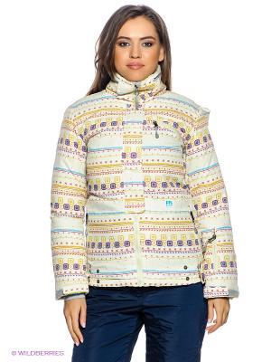 Куртка F5. Цвет: молочный