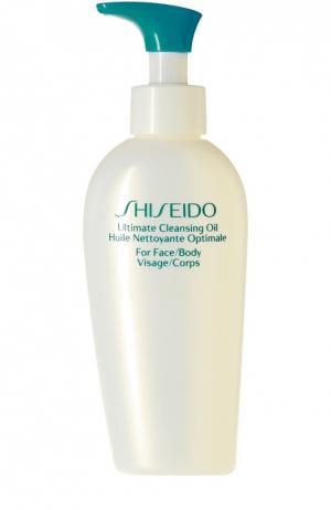 Масло для безупречного очищения кожи Shiseido. Цвет: бесцветный