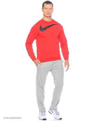 Брюки M NSW PANT OH CLUB JSY Nike. Цвет: серый меланж