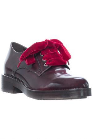 Low shoes FORMENTINI. Цвет: bordo