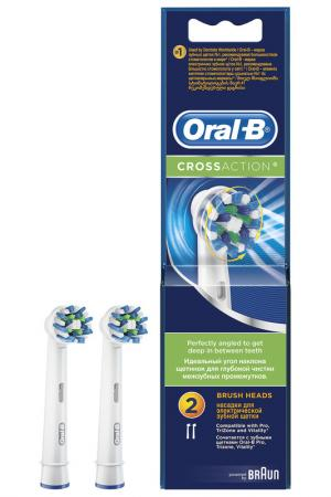 Насадка для зубных щеток 2 шт ORAL B. Цвет: none