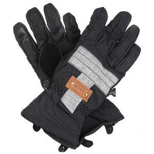 Перчатки сноубордические женские  Vermont Gloves True Black Roxy. Цвет: черный