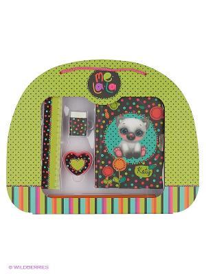 Подарочный детский НаборКотик Koty Daisy Design. Цвет: зеленый
