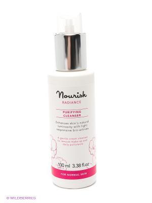 Очищающее молочко для нормальной и зрелой кожи лица, 100 мл Nourish. Цвет: прозрачный