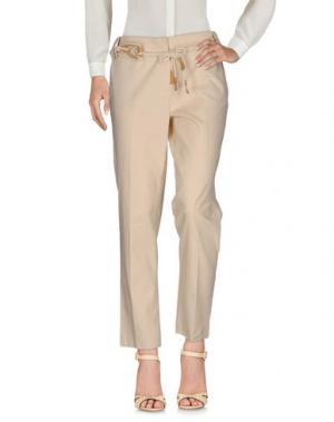 Повседневные брюки ALBA CONDE. Цвет: бежевый