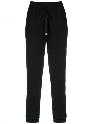 Straight trousers Olympiah. Цвет: чёрный