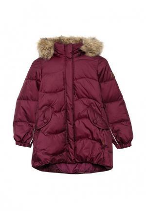 Куртка утепленная Reima. Цвет: бордовый