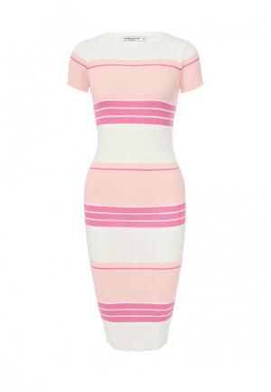 Платье Manosque. Цвет: розовый