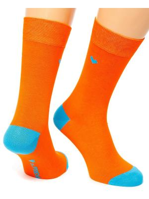 Дизайнерские Носки St.Friday Socks. Цвет: оранжевый