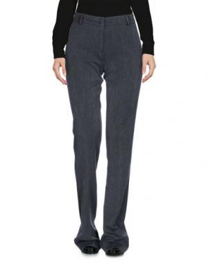 Повседневные брюки LOVLET. Цвет: серый
