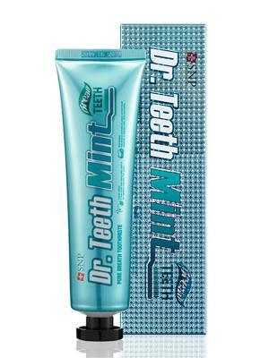 Зубная паста мятная СВЕЖЕЕ ДЫХАНИЕ DrTeeth Mint Pure Breath, 120 г SNP. Цвет: белый