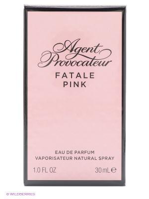 Парфюмерная вода FATALE PINK жен 30 мл спрей AGENT PROVOCATEUR. Цвет: розовый