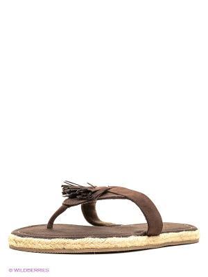 Пантолеты Isotoner. Цвет: коричневый