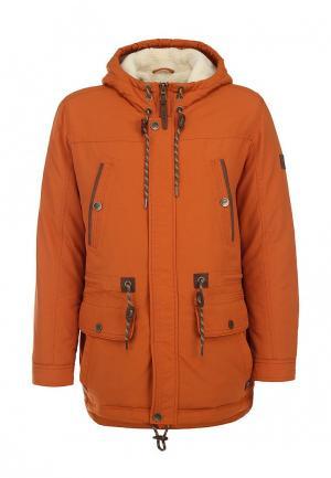 Куртка утепленная Vizani. Цвет: оранжевый