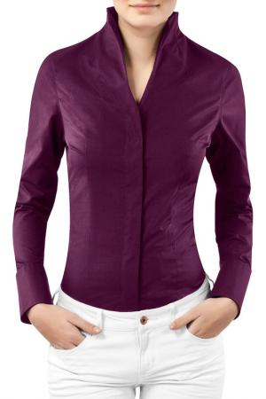 Блузка Vincenzo Boretti. Цвет: фиолетовый